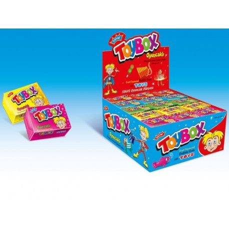 آدامس بادکنی شانسی Toy Box
