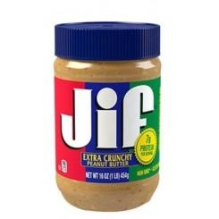 کره بادام زمینی کرانچی JIF 454 گرمی