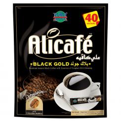 قهوه علی کافه مدل Black Gold (بسته 40 عددی)