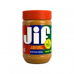 کره بادام زمینی ساده JIF 454 گرمی
