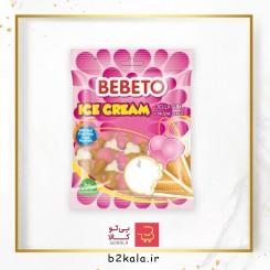 پاستیل بستنی 120 گرم Bebeto