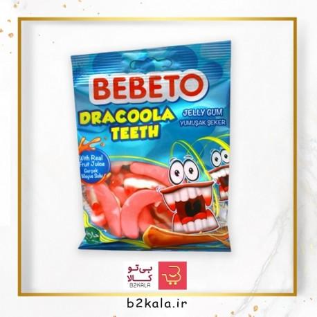 پاستیل دندان 80 گرمی bebeto