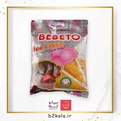 پاستیل بستنی 80 گرمی bebeto