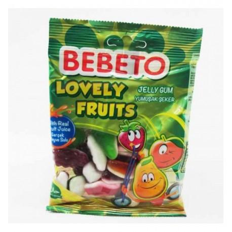 پاستیل میوه ای 80 گرمی bebeto
