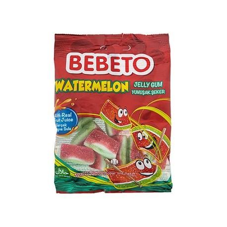 پاستیل هندوانه 80 گرمی bebeto