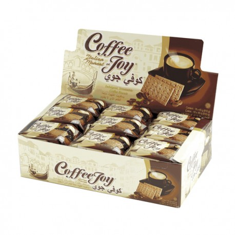 پک 18 عددی بیسکوییت قهوه کافی جوی (Coffee Joy)