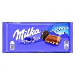 شکلات شیری میلکا اورئو ساده 100 گرمی (Milka Oreo)