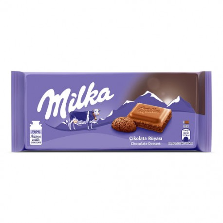 شکلات دسر شکلاتی 100 گرمی میلکا