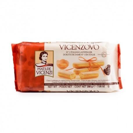 بیسکوئیت لیدی فینگر ویچنزوو 200 گرم Vicenzovo