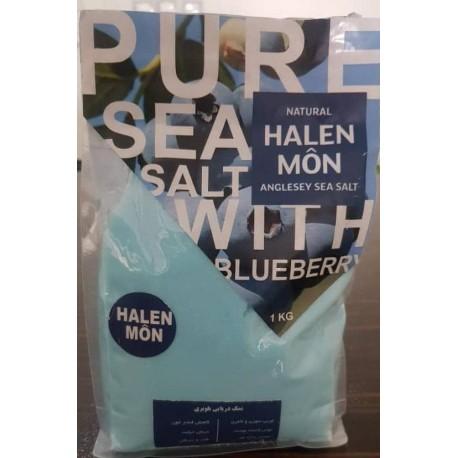 نمک دریایی با طعم بلوبری