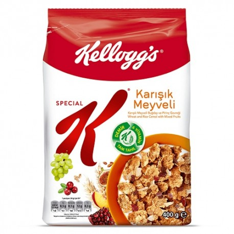 کورن فلکس اسپشیال کی Special K میوه های مخلوط 400 گرمی
