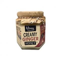 عسل طبیعی کرمی با زنجبیل 400گرم هانی تاون