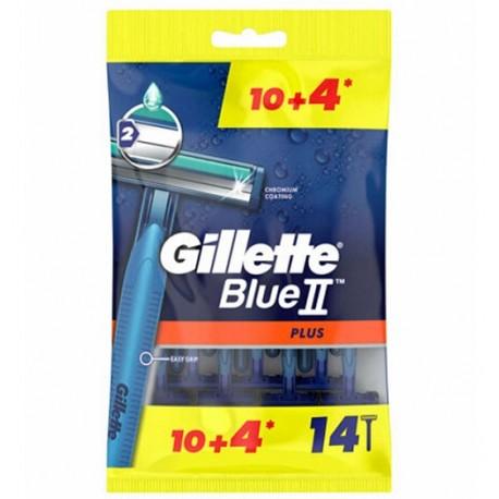 خود تراش ژیلت Gillette مدل Blue 2 بسته 14 عددی