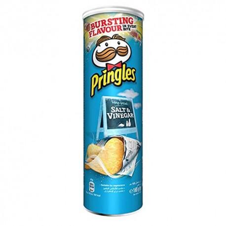 چیپس پرینگلز با طعم سرکه نمکی
