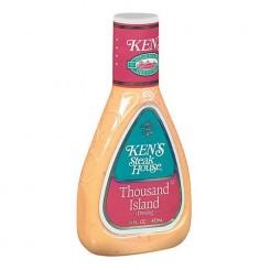 سس سالاد هزار جزیره کنز Ken's