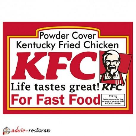 ادویه روکش (کوتینگ) مرغ سوخاری کنتاکی KFC
