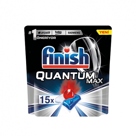 قرص ماشین ظرفشویی فینیش مدل Quantum Max بسته 15 عددی
